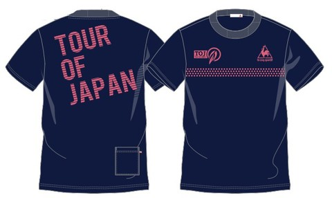 TOJ × le coq sportif コラボバックロゴTシャツ(ポケット付)<NV×CL>