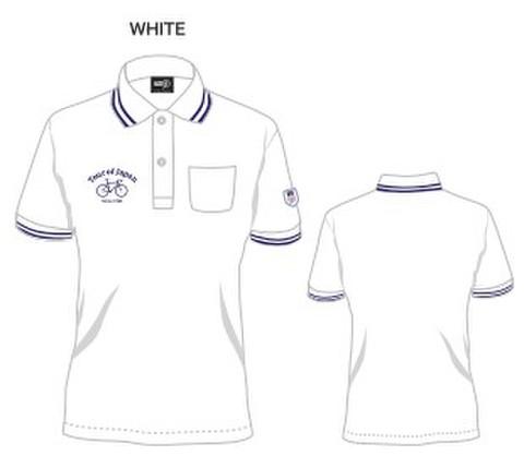 TOJオリジナルポロシャツ<ホワイト>