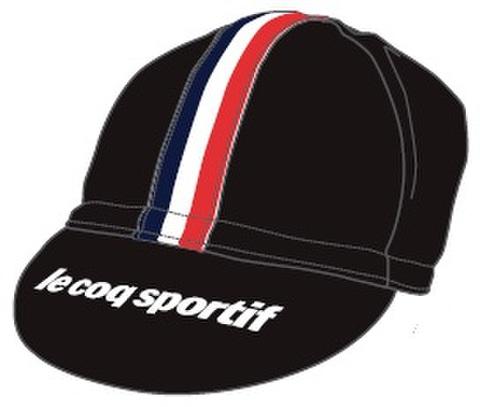 TOJ × le coq sportifコラボサイクルキャップ<ブラック>