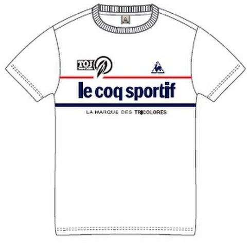 TOJ × le coq sportifコラボTシャツ2017<ホワイト>