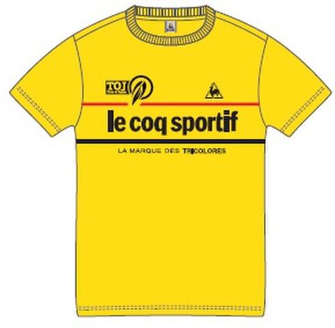 TOJ × le coq sportifコラボTシャツ2017<イエロー>