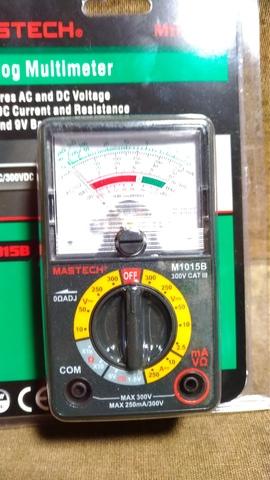 値下げしました!アナログマルチメーター M1015B