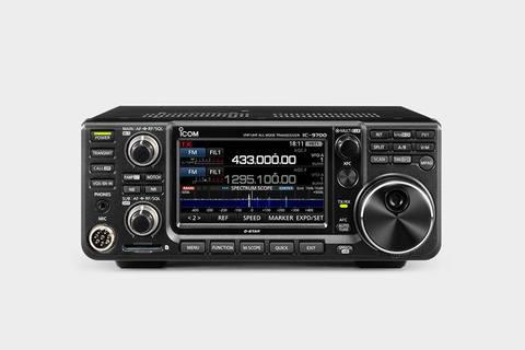 アマチュア無線 ICOM 144MHz/430MHz/1200MHzトランシーバー IC-9700