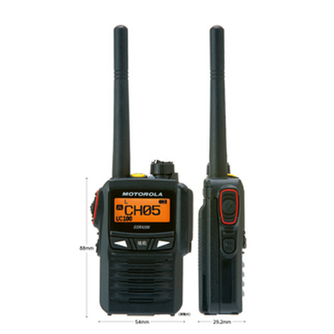 MOTOROLA ハイパワーデジタル簡易無線機 GDR4200