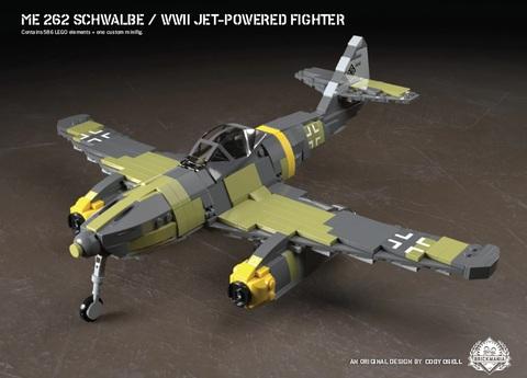 ドイツ軍メッサーシュミットMe-262シュヴァルべ
