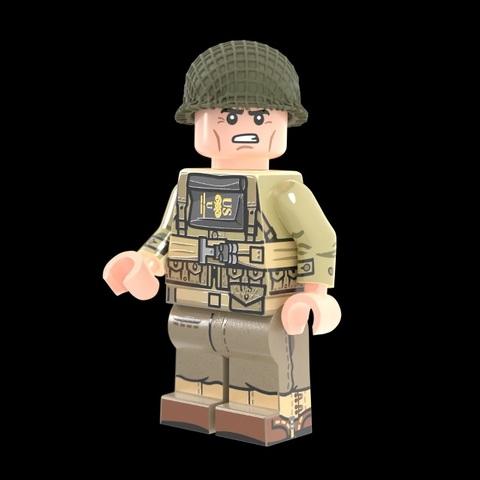 WW2アメリカ軍兵士:D-Day
