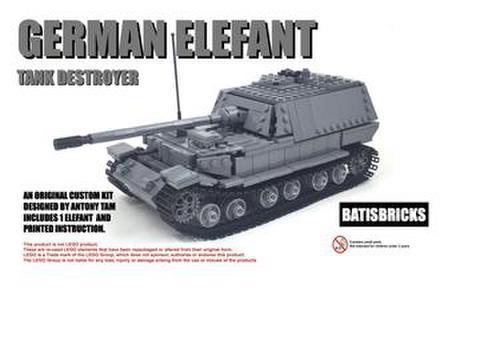 WWII ドイツ軍 ジャーマンエレファント重戦車