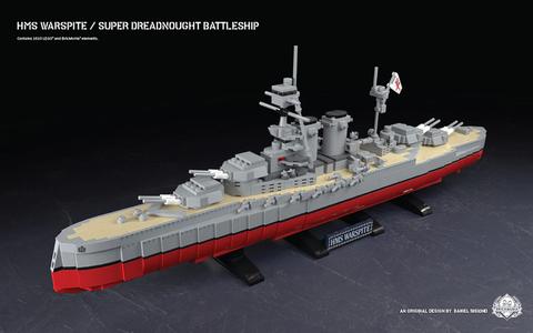 イギリス軍 戦艦 ウォースパイト