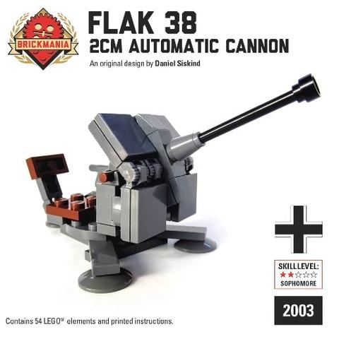 2 cm Flak 38対空機関砲