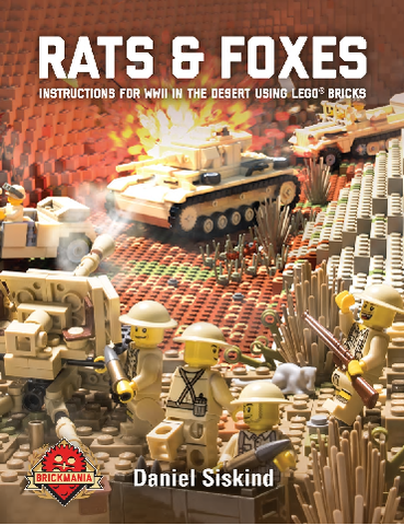Rats and Foxes: Building Instructions for WWII in the Desert-Building instruction book