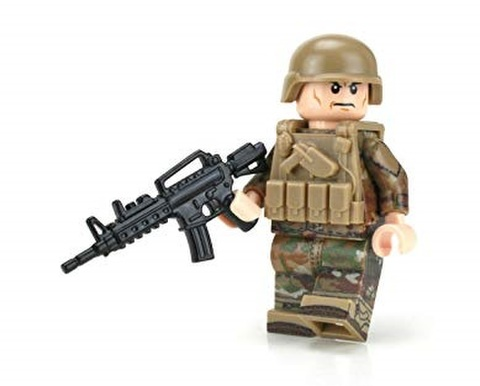 US Army OCP Infantry Minifigure