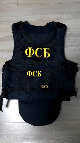 ロシア軍 ディフェンダーアーマー2 FSBパッチ3種類付き ホライゾンモデル 複製