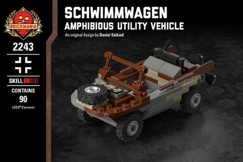 シュビムワーゲン:ドイツ軍軍用水陸両用車
