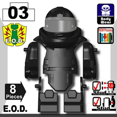 E.O.D TS70(爆発物処理班)