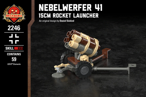 ネーベルヴェルファー 41 - 15cm ロケットランチャー