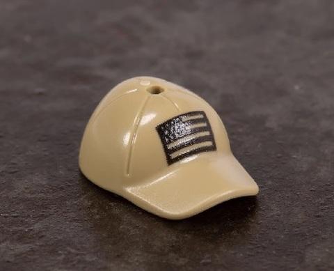 オペレーション キャップ (US フラッグプリント付き)