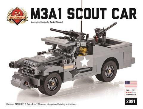 アメリカ軍M3A1スカウトカー