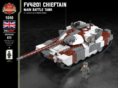 イギリス軍 FV4201 チーフテン