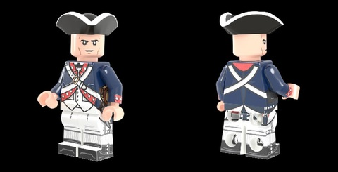 アメリカ軍兵士:独立戦争