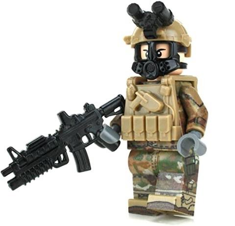 US Army OCP Chemical Warfare Minifigure