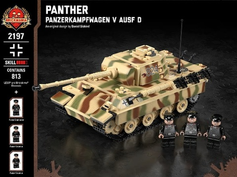 ドイツ軍PanzerV Ausf D