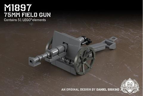 M1897-75mm フィールドガン