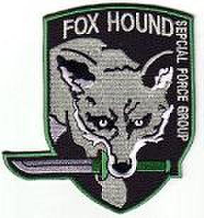 FOXHOUND・ODパッチ メタルギア