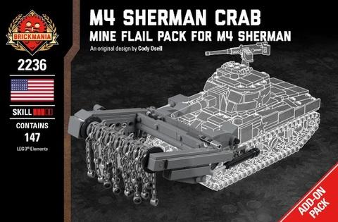 アメリカ軍 M4 Sherman Crab Add-on-Pack