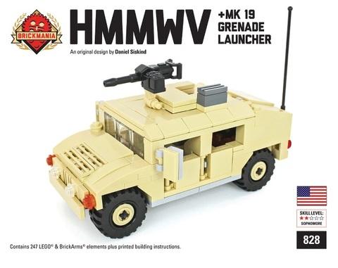 アメリカ軍 HMMWV+MK19