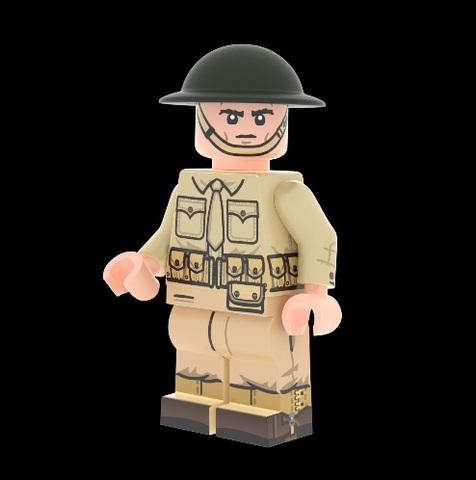 WWII アメリカ海軍ウェ―ク・アイランド海兵隊員