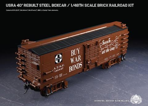 USRA 40' Rebuilt Steel Boxcar