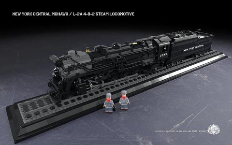 ニューヨーク・セントラル鉄道モホーク型蒸気機関車