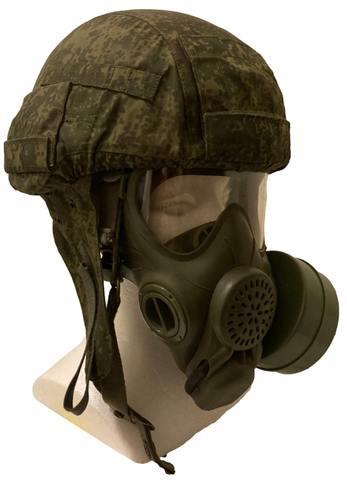 ロシア軍実物 PMK-4 ガスマスク フィルター 専用ケース付 デジタルフローラ
