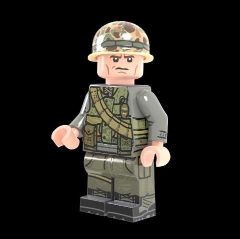 アメリカ軍 Hue Marine