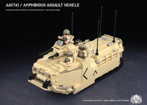 アメリカ軍 AAV7A1/水陸両用装甲兵員輸送車