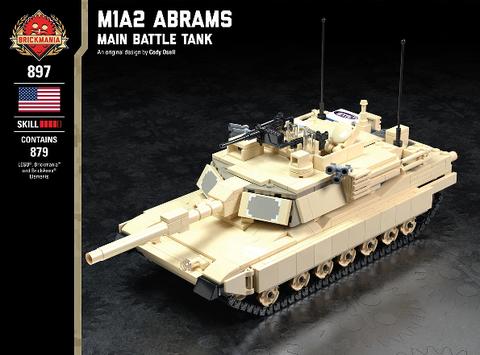 M1A2エイブラムス重戦車