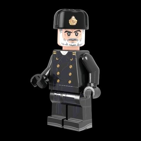 ロシア軍キャプテンレッド( コールドウォー) サブマリンキャプテン