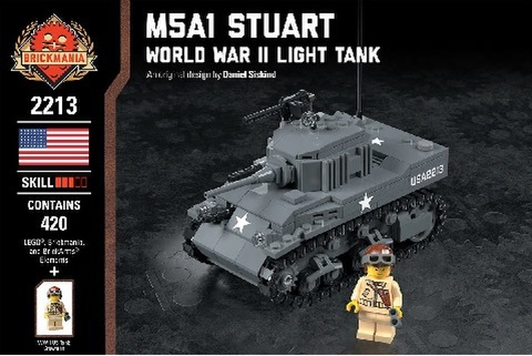 アメリカ軍 M5A1 スチュアート - WWII 軽戦車