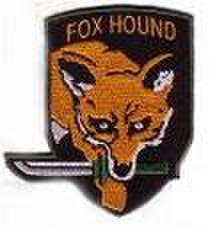 FOXHOUNDパッチ メタルギア(サイドレタリング無し)
