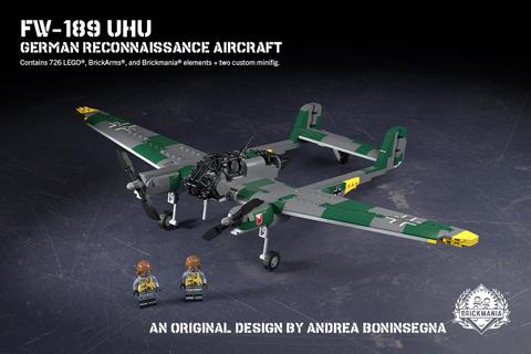 ドイツ軍 Fw 189 航空偵察機