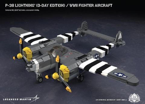 P-38  ライトニング(D-Day edition)