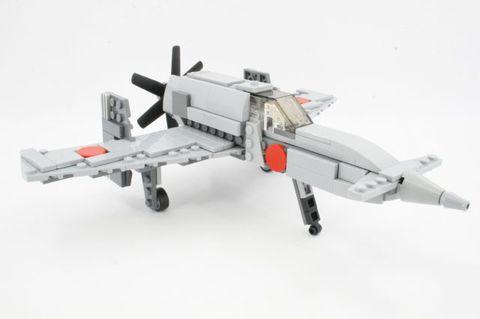 旧日本軍試作極地戦闘機「震電」