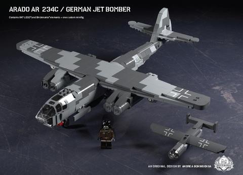 ドイツ軍 アラドAr-234C 高速爆撃機