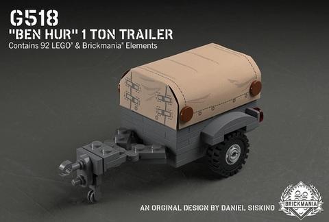 "G518-""Ben Hur"" 1トントレーラー"