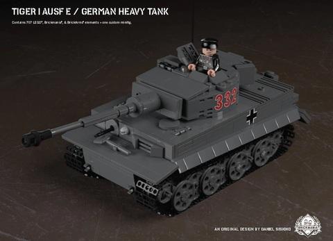 Tiger I Ausf E/ドイツ軍 重戦車