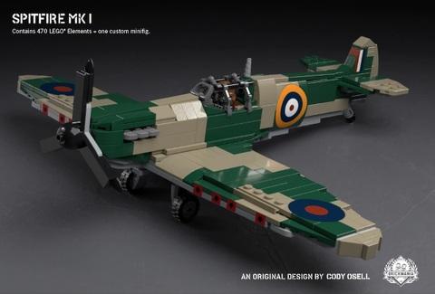 イギリス軍 WW2 スピットファイア― MkI