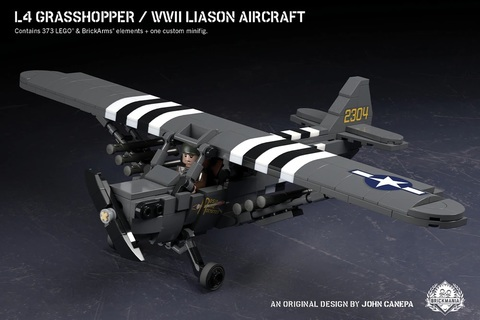 L-4 グラスホッパー WWII 連絡機