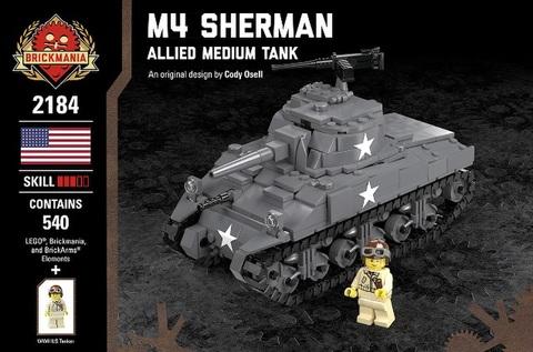 アメリカ軍 M4 Sherman-Allied Medium Tank