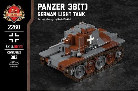 ドイツ軍パンツアー38(T)