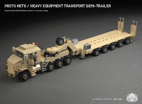 M1070HETS - セミトレーラートラック